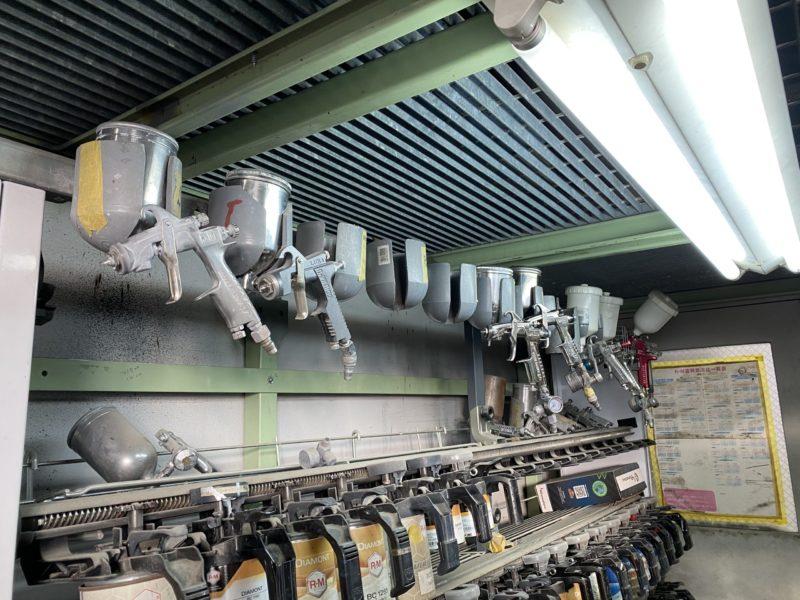 栃木県宇都宮市Carfe(カーフェ)自動車の修理・傷・へこみを格安で   スプレーガンのアイキャッチ画像