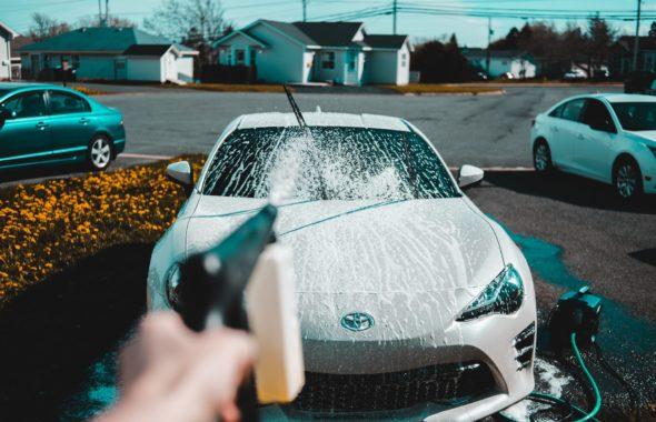 栃木県宇都宮市Carfe(カーフェ)自動車の修理・傷・へこみを格安で | 洗車の画像
