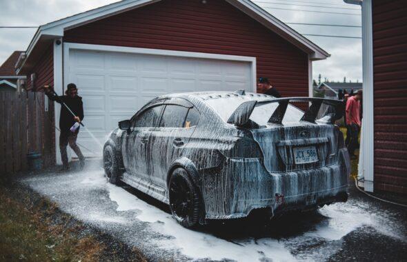 栃木県宇都宮市Carfe(カーフェ)自動車の修理・傷・へこみを格安で | 洗車する画像